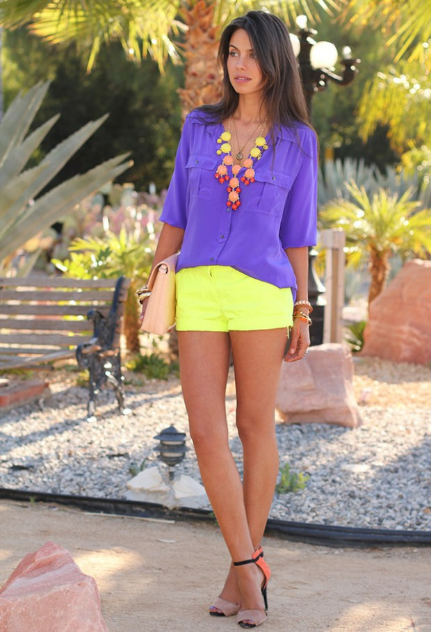 18 Stylish Outfits with Statement Necklaces        (4)