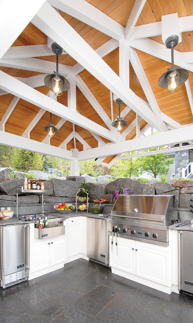 19 Amazing Outdoor Kitchen Design Ideas     (10)