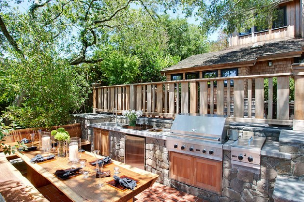 19 Amazing Outdoor Kitchen Design Ideas     (15)