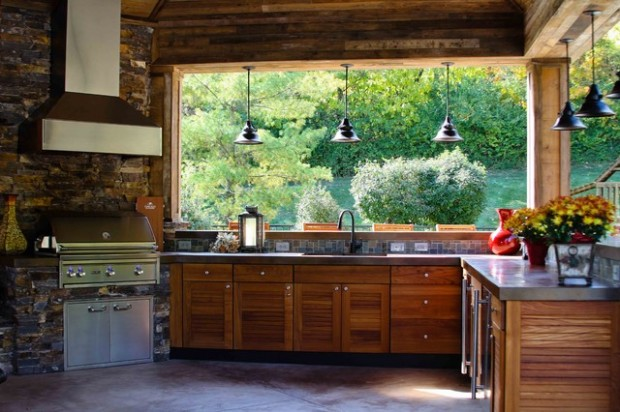 19 Amazing Outdoor Kitchen Design Ideas     (2)