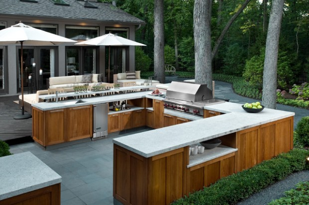19 Amazing Outdoor Kitchen Design Ideas     (4)