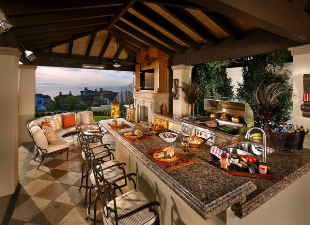 19 Amazing Outdoor Kitchen Design Ideas     (8)