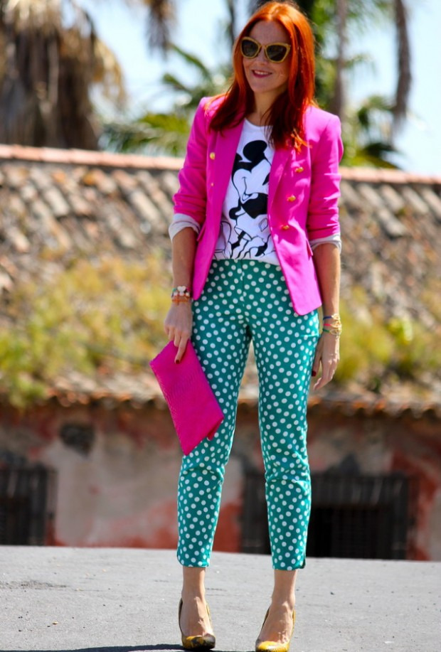 19 Color Block Outfits Ideas for Fabulous Look (11)