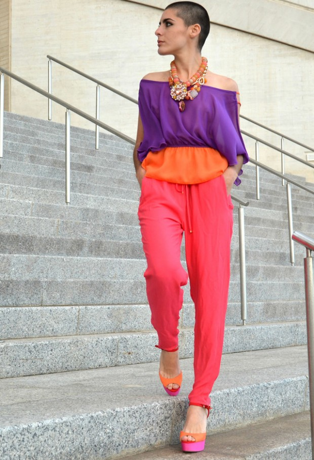 19 Color Block Outfits Ideas for Fabulous Look (14)