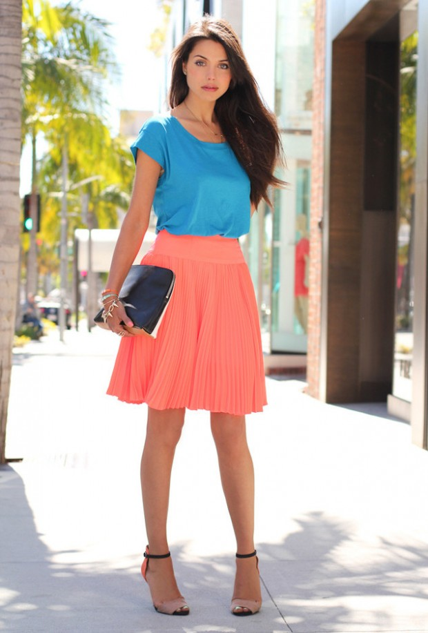 19 Color Block Outfits Ideas for Fabulous Look (6)
