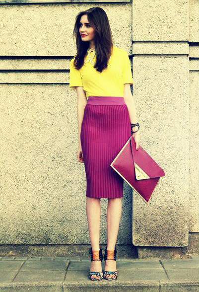 19 Color Block Outfits Ideas for Fabulous Look (7)