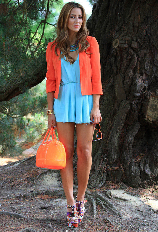 19 Color Block Outfits Ideas for Fabulous Look (8)
