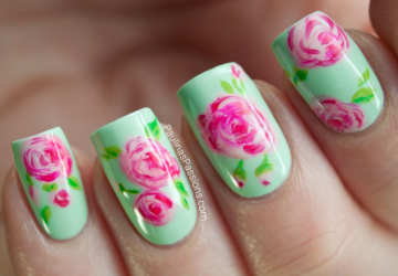 22 Modern Nails Designs In The Spirit of Spring Colors - spring nails, nails, cute nails, creative nail art ideas, colorful nail, amazing nail art