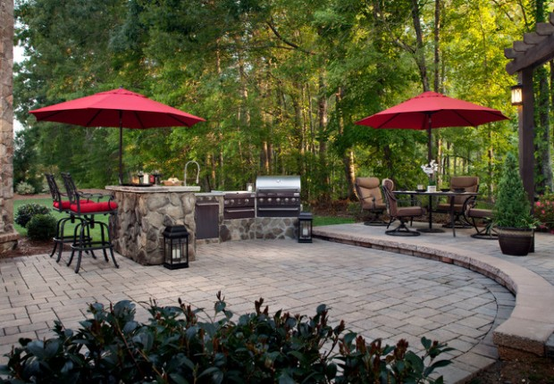 20 Amazing Patio Design Ideas with Outdoor Barbecue (12)