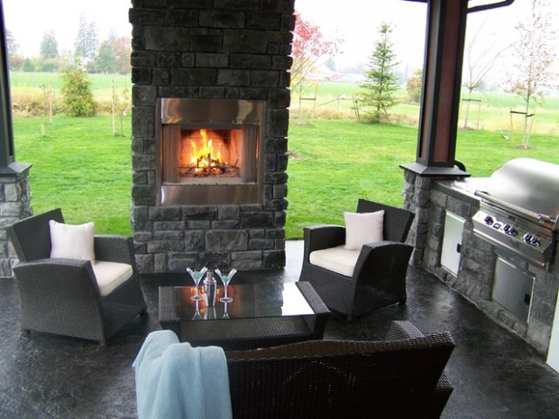 20 Amazing Patio Design Ideas with Outdoor Barbecue (17)