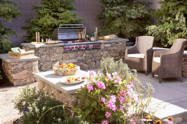 20 Amazing Patio Design Ideas with Outdoor Barbecue (20)