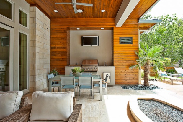 20 Amazing Patio Design Ideas with Outdoor Barbecue (3)