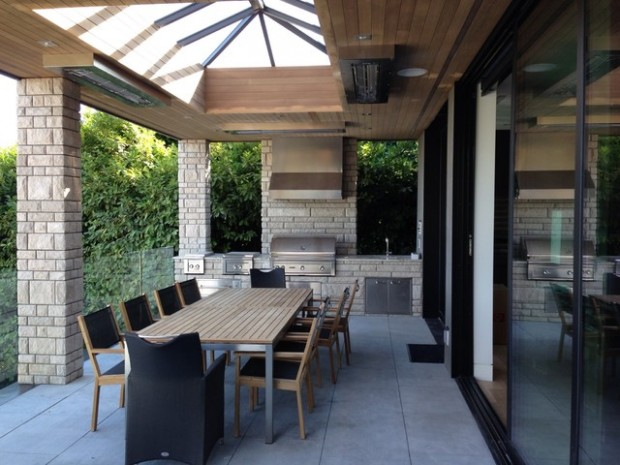 20 Amazing Patio Design Ideas with Outdoor Barbecue (4)