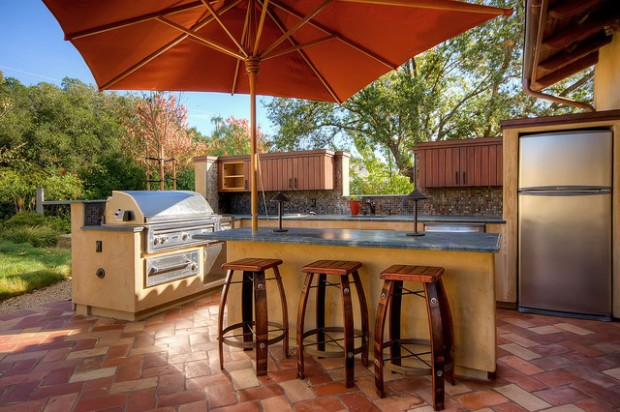 20 Amazing Patio Design Ideas with Outdoor Barbecue (5)