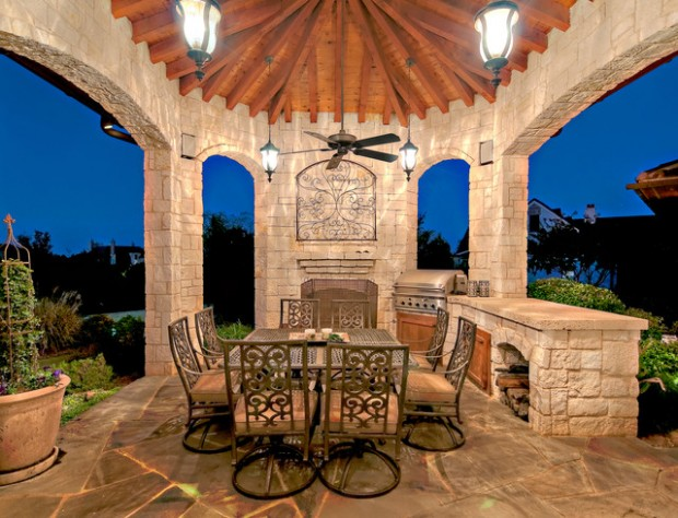 20 Amazing Patio Design Ideas with Outdoor Barbecue (9)
