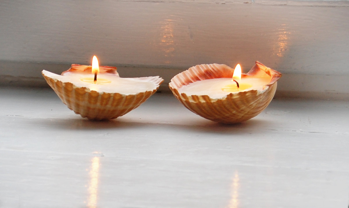 Beach House Candle Holders