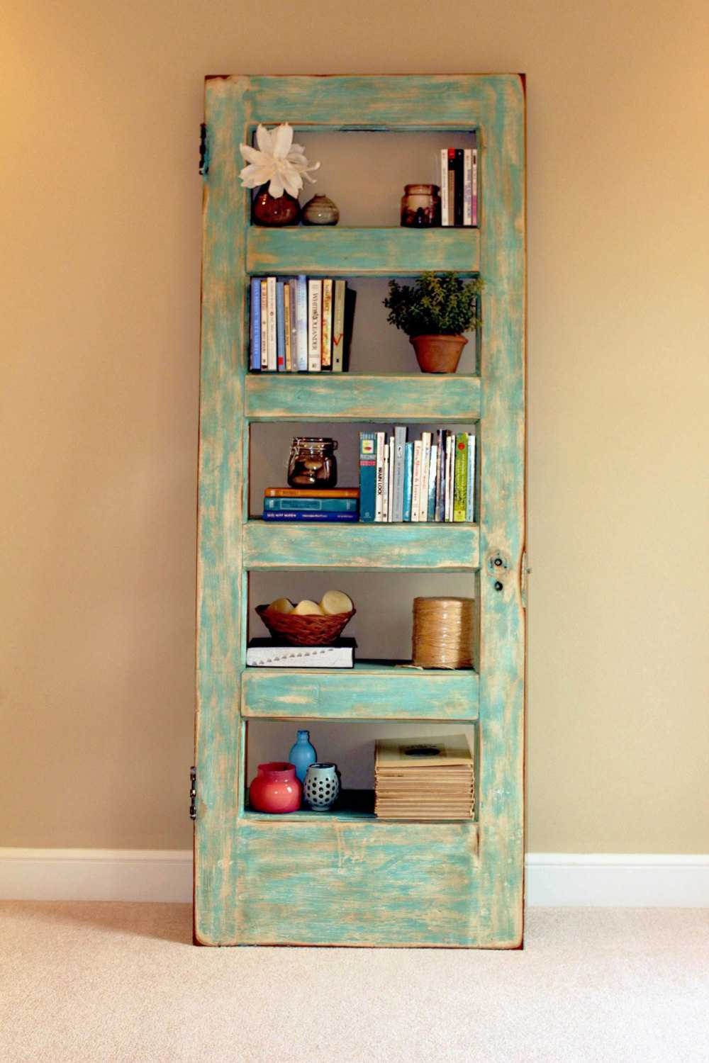 20 creative handmade bookcase ideas style motivation for Creative shelf ideas