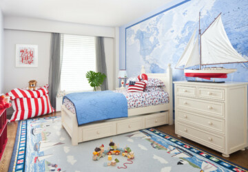 18 Interesting and Creative Design Ideas for Kids Bedroom - kids room, kids bedroom, girl room design, girl room, Boys room