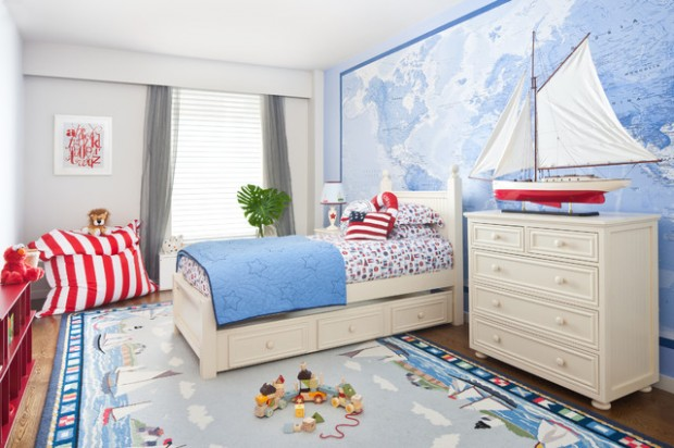 20 Interesting and Creative Design Ideas for Kids Bedroom (1)
