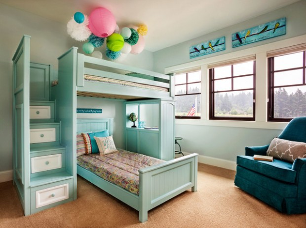 20 Interesting and Creative Design Ideas for Kids Bedroom (13)