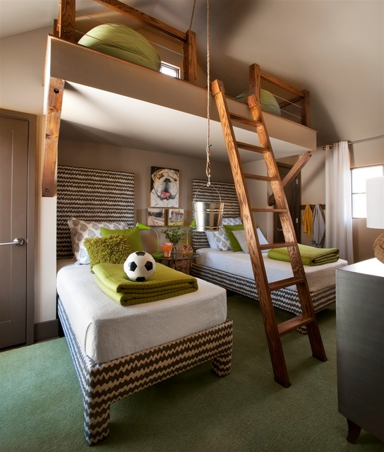 20 Interesting and Creative Design Ideas for Kids Bedroom (14)