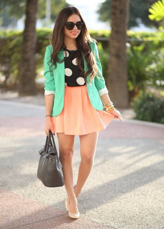 20 Outfits with Skirts for Trendy Chic Spring Look (16)