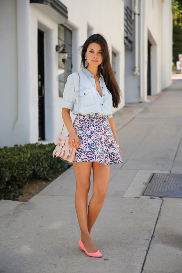 20 Outfits with Skirts for Trendy Chic Spring Look (19)