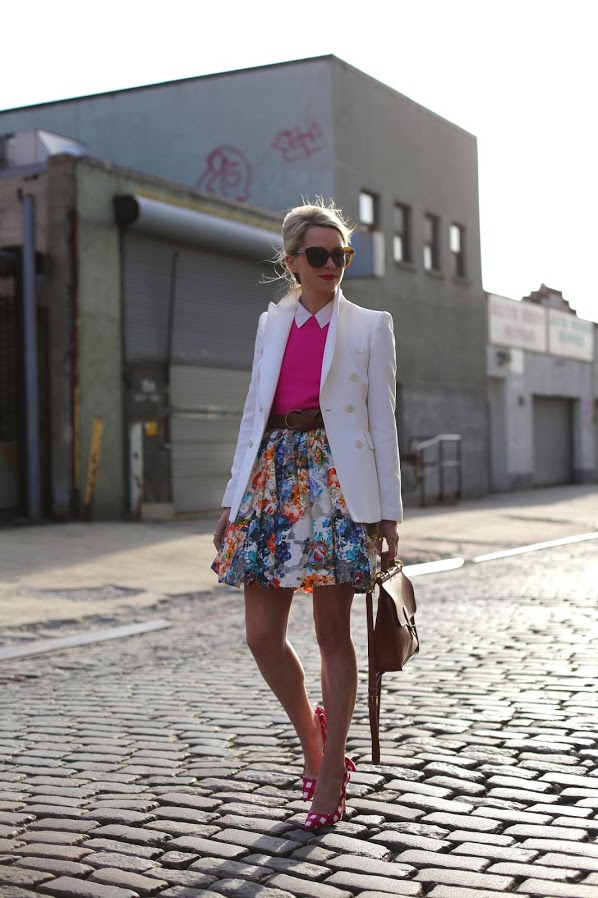 20 Outfits with Skirts for Trendy Chic Spring Look (9)