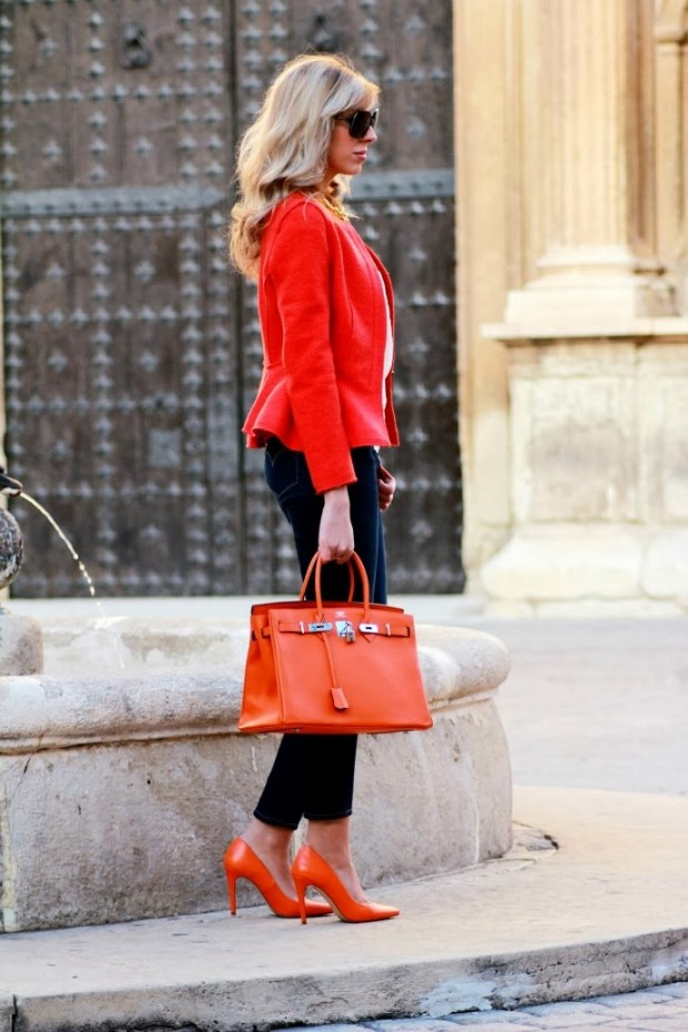 25 Fresh Combinations with Orange Details For This Season