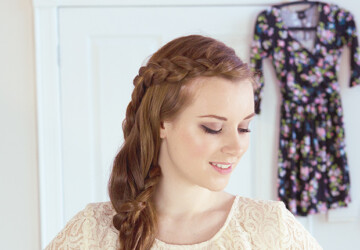 18 Super Fast&Easy Tutorials How To Make Your Desired Braid - Waterfall Braid, Romantic Side Braid, Mermaid tail braid, Lace Braid, Fishtail Braid, Casual Falling Braid, Braids, Bow Braids, Boho Braid