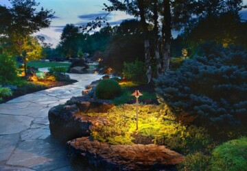 Landscape Lighting Tips - Light Placement, Landscape Lighting Tips, Glare and Light Pollution