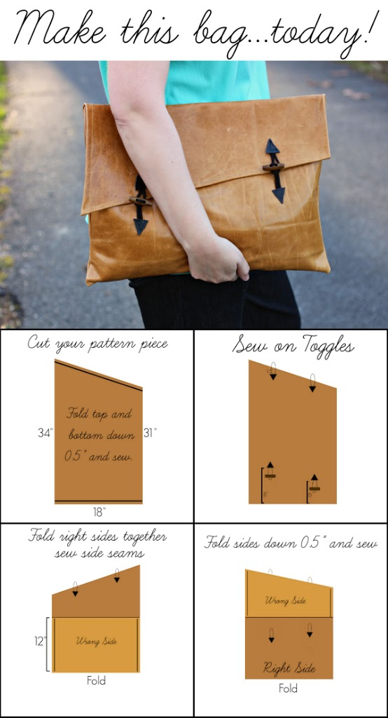 Create Your Own Bag with the Help of These 17 Amazing DIY Ideas (4)