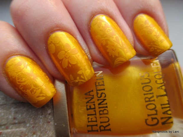 Different Shades of Yellow on Your Nails for Crazy Summer Nail Design (12)