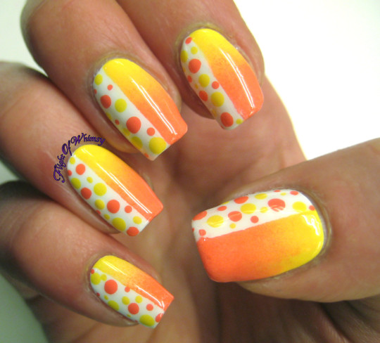 Different Shades of Yellow on Your Nails for Crazy Summer Nail Design (14)