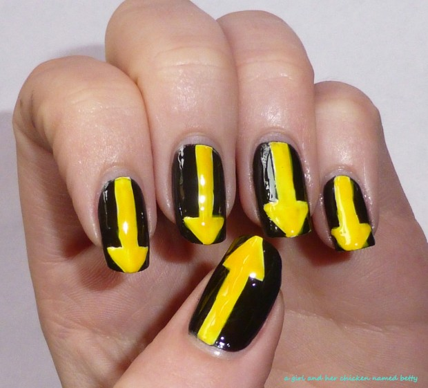 Different Shades of Yellow on Your Nails for Crazy Summer Nail Design (18)