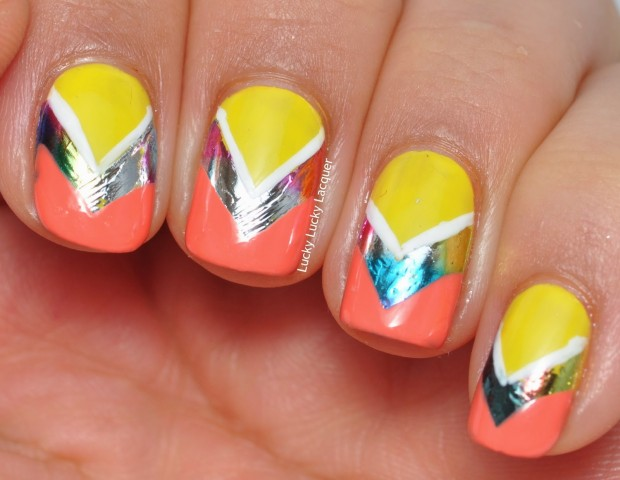 Different Shades of Yellow on Your Nails for Crazy Summer Nail Design (5)