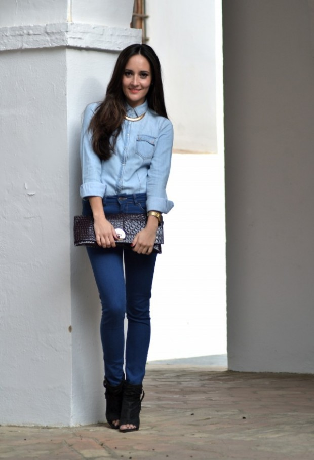 How to Wear Denim on Denim 17 Chic Outfit Ideas  (11)