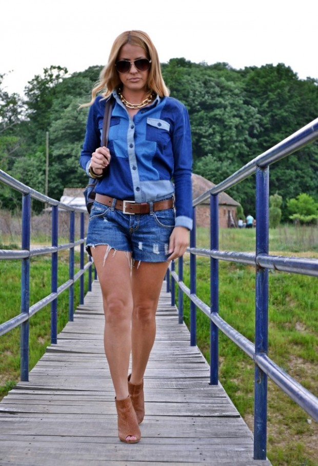 How to Wear Denim on Denim 17 Chic Outfit Ideas  (15)