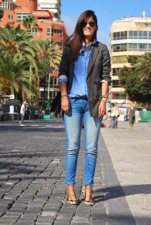 How To Wear Denim On Denim 17 Chic Outfit Ideas - Style Motivation