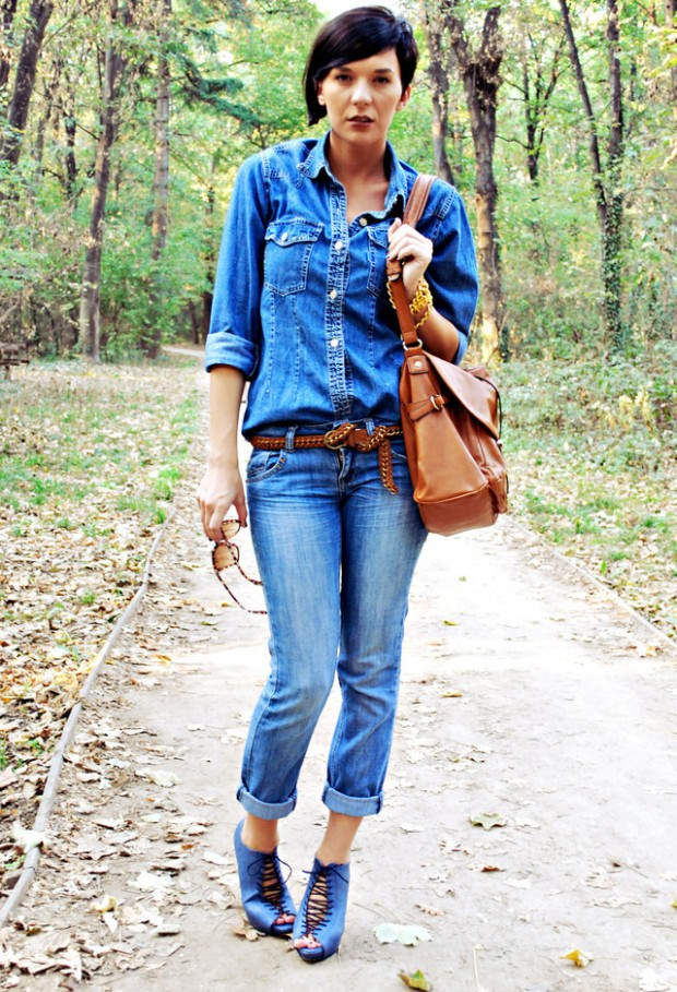 How to Wear Denim on Denim 17 Chic Outfit Ideas  (3)