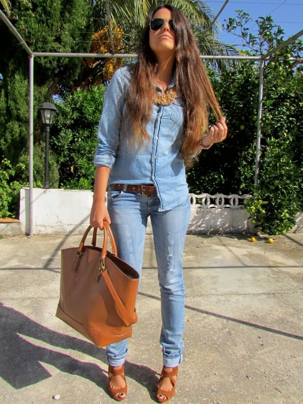 How to Wear Denim on Denim 17 Chic Outfit Ideas  (5)