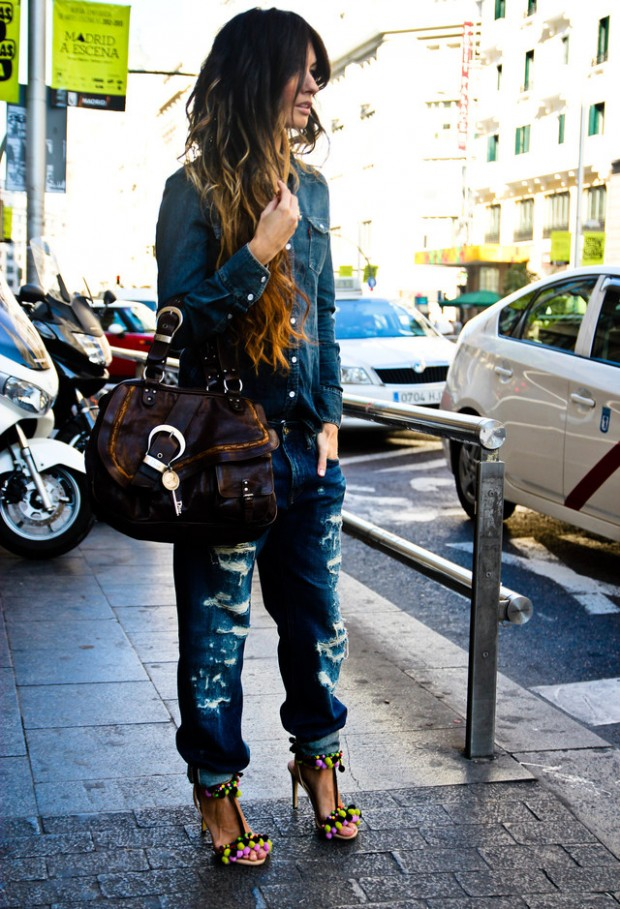 How to Wear Denim on Denim 17 Chic Outfit Ideas  (6)