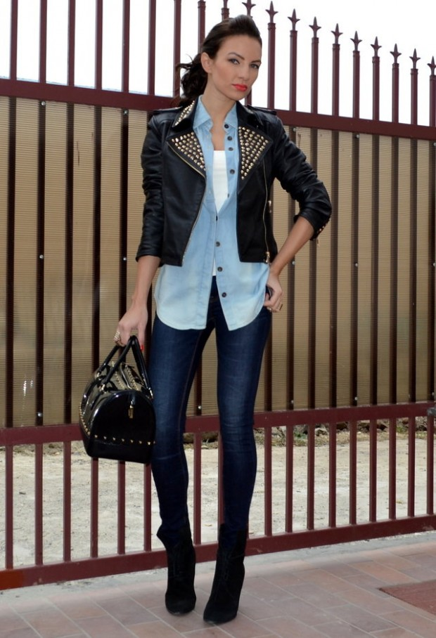 How to Wear Denim on Denim 17 Chic Outfit Ideas  (7)