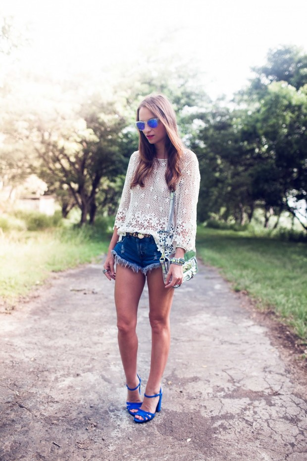 Lace for Romantic Chic Look: 19 Amazing Outfit Ideas
