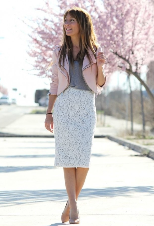 Pastel Colors for Fresh Spring Look 16 Cute Outfit Ideas (12)
