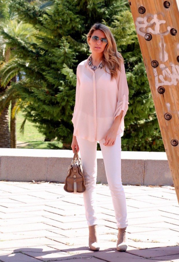 Pastel Colors for Fresh Spring Look 16 Cute Outfit Ideas (14)