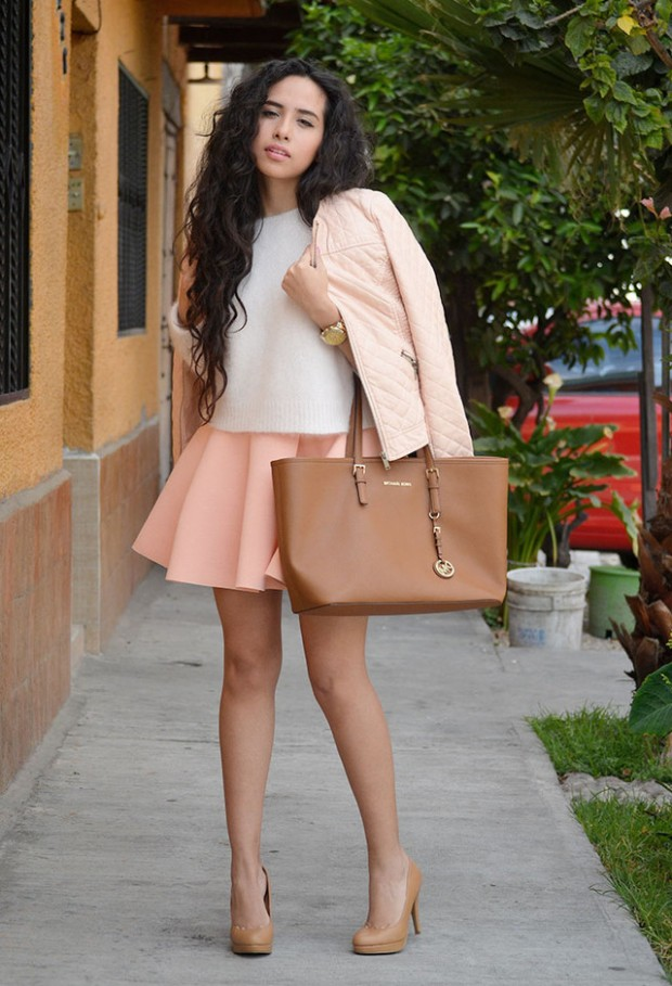 Pastel Colors for Fresh Spring Look 16 Cute Outfit Ideas (16)