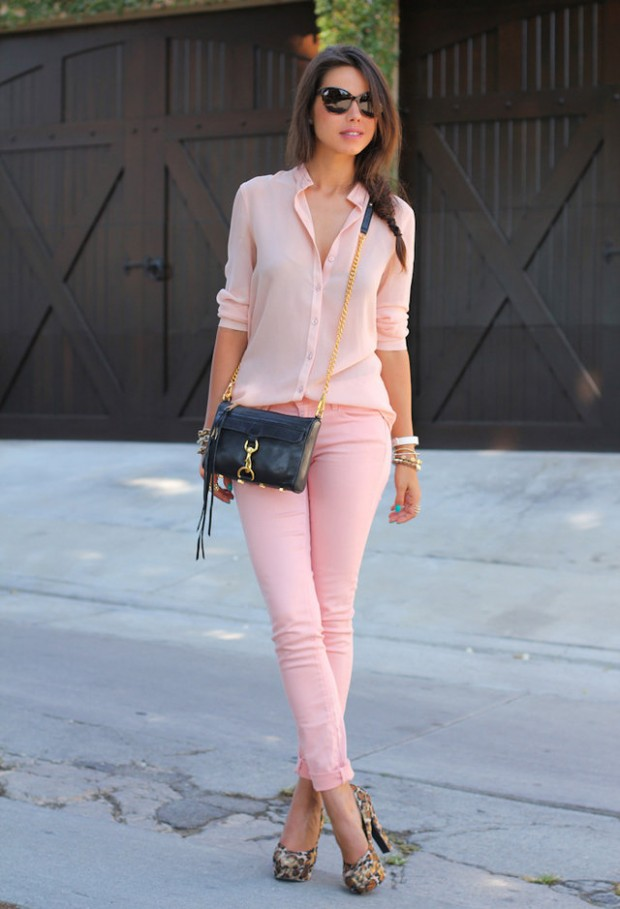 Pastel Colors for Fresh Spring Look 16 Cute Outfit Ideas (5)