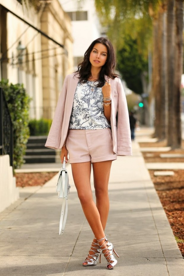 Pastel Colors for Fresh Spring Look 16 Cute Outfit Ideas (7)