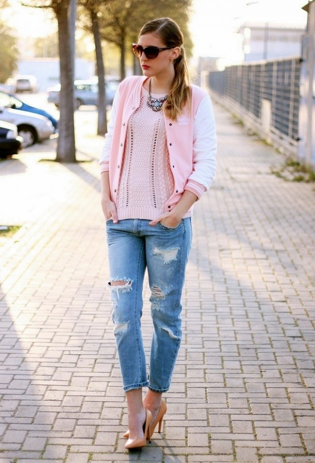 Pastel Colors for Fresh Spring Look 16 Cute Outfit Ideas (9)
